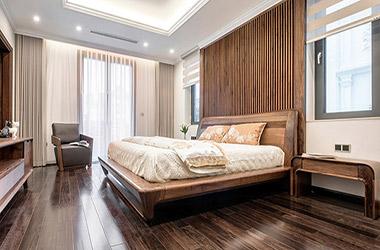 Bí quyết lựa chọn đồ nội thất phòng ngủ gỗ tự nhiên đẹp, chất lượng