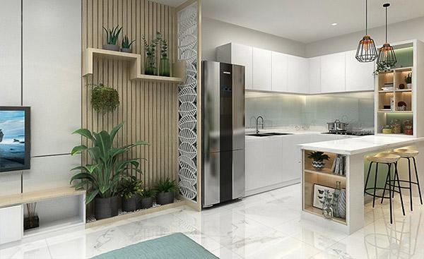 Thiết kế nội thất phòng ăn gia đình hiện đại