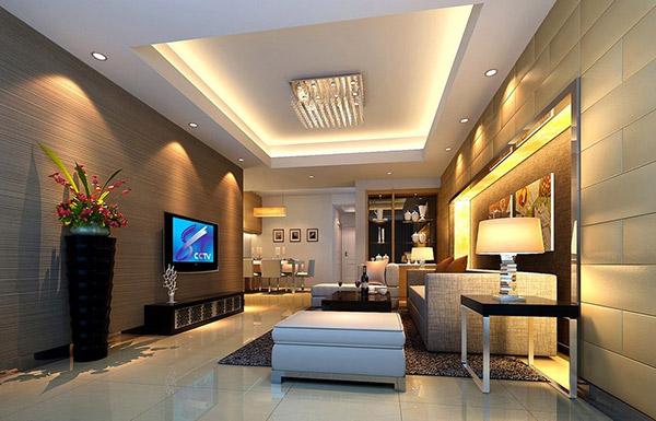 Thiết kế nội thất phòng khách tiện nghi