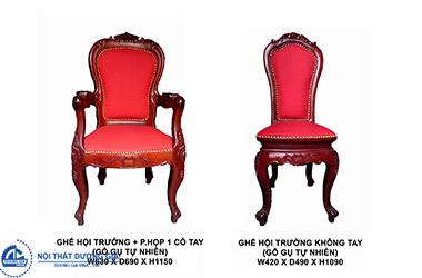 Mua ghế hội trường bằng gỗ cần phải chú ý tới những điều gì?