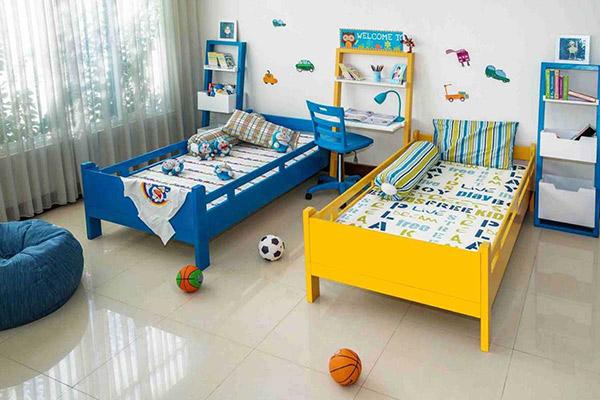 Phòng ngủ cá tính cho con trai