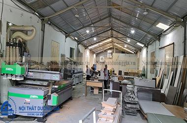 Xưởng chuyên thi công nội thất đồ gỗ gia đình giá rẻ nhất tại Hà Nội