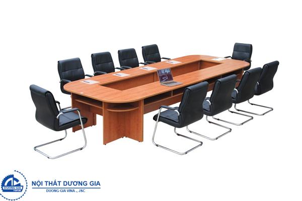 Màu sắc bàn ghế phòng họp đẹp