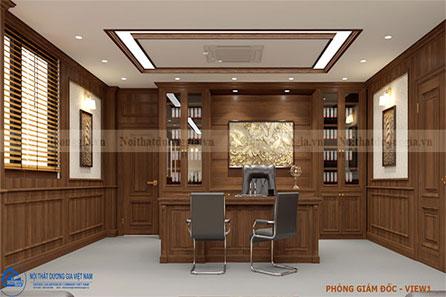 Thiết kế phòng giám đốc GD-DG18