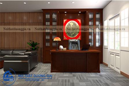Thiết kế phòng giám đốc GD-DG19