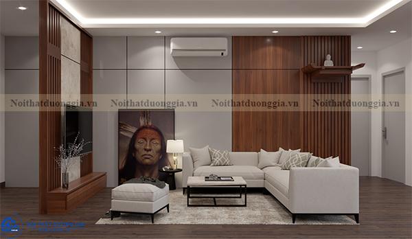 Thiết kế nội thất gia đình tại Eurowindow GĐ-DG02 - phòng khách (góc chụp1)
