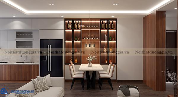 Thiết kế nội thất gia đình tại Eurowindow GĐ-DG02 - phòng ăn