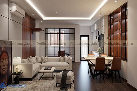 Thiết kế nội thất gia đình tại Eurowindow NTGD-DG02