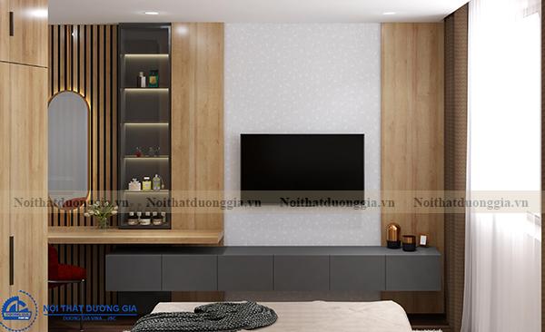 Thiết kế nội thất gia đình NTGD-DG03 - phòng khách (góc chụp 2)