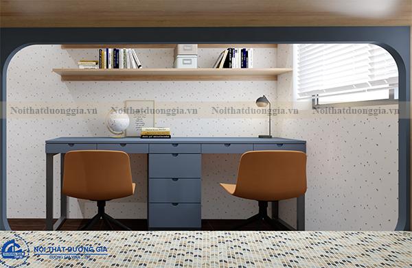 Thiết kế nội thất gia đình NTGD-DG03 - phòng ngủ con (góc chụp 2)