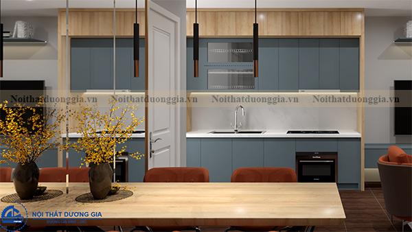 Thiết kế nội thất gia đình NTGD-DG03 - phòng bếp (góc chụp 3)