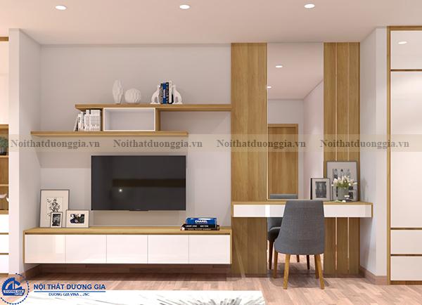 Thiết kế nội thất gia đình NTGD-DG04 - phòng khách (góc chụp 5)