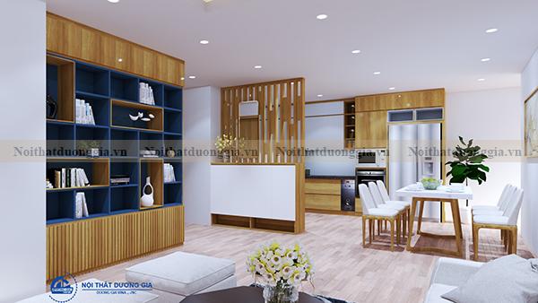 Thiết kế nội thất gia đình NTGD-DG04 - phòng bếp (góc chụp 1)