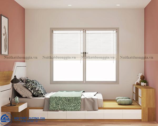Thiết kế nội thất gia đình NTGD-DG04 - phòng ngủ (góc chụp 4)