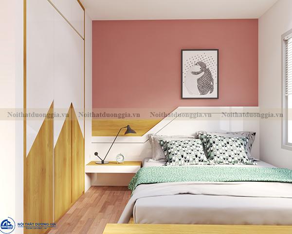 Thiết kế nội thất gia đình NTGD-DG04 - phòng ngủ (góc chụp 3)