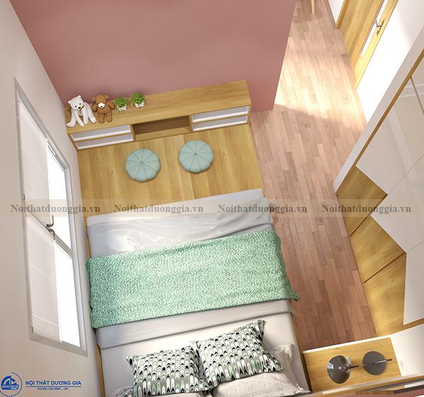Thiết kế nội thất gia đình NTGD-DG04 - phòng ngủ (góc chụp 2)