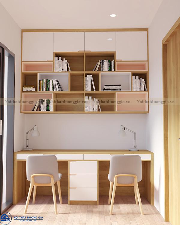 Thiết kế nội thất gia đình NTGD-DG04 - phòng ngủ (góc chụp 5)