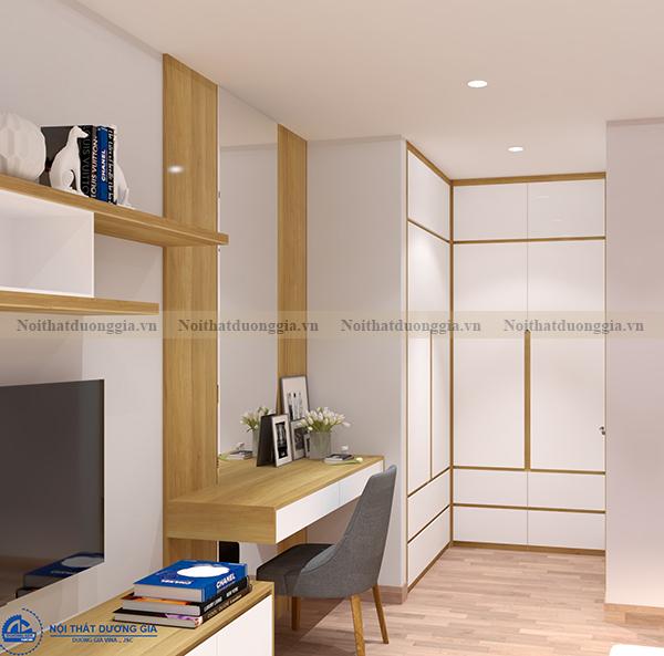 Thiết kế nội thất gia đình NTGD-DG04 - phòng khách (góc chụp 4)