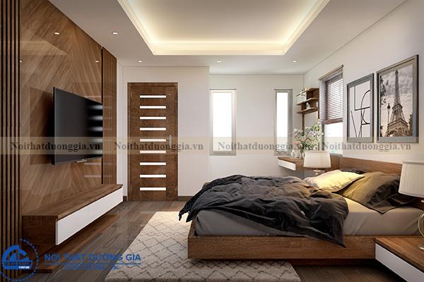 Thiết kế nội thất gia đình NTGD-DG05 - phòng Master (góc chụp 4)