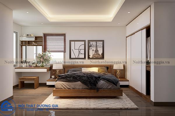 Thiết kế nội thất gia đình NTGD-DG05 - phòng Master (góc chụp 3)