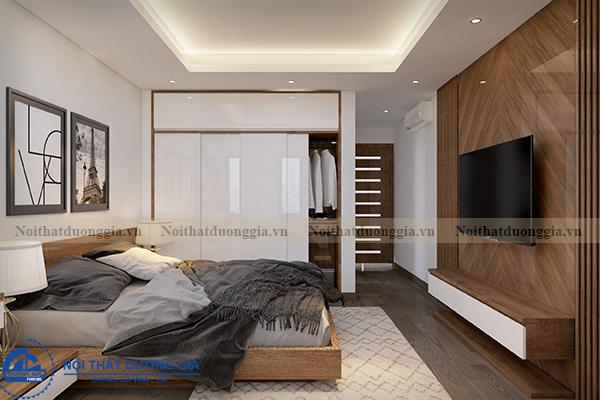 Thiết kế nội thất gia đình NTGD-DG05 - phòng Master (góc chụp 2)