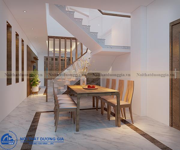 Thiết kế nội thất gia đình NTGD-DG05 - phòng bếp (góc chụp 4)