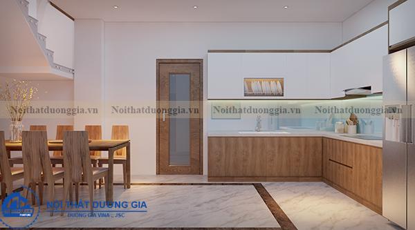 Thiết kế nội thất gia đình NTGD-DG05 - phòng bếp (góc chụp 2)