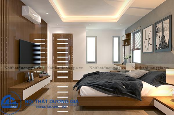 Thiết kế nội thất gia đình NTGD-DG05 - phòng Master (góc chụp 1)