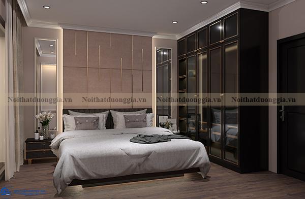 Thiết kế nội thất gia đình NTGD-DG06 - Phòng ngủ (góc chụp 1)