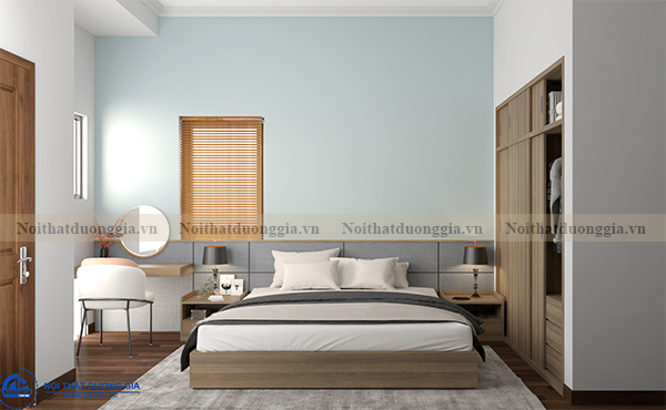 Thiết kế nội thất gia đình NTGD-DG07 - Phòng Master (view 1)