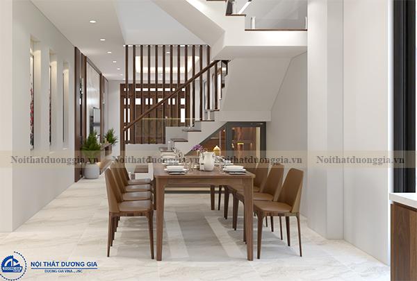 Thiết kế nội thất gia đình NTGD-DG07 - Phòng bếp (view 1)