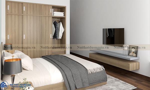 Thiết kế nội thất gia đình NTGD-DG07 - Phòng Master (view 2)