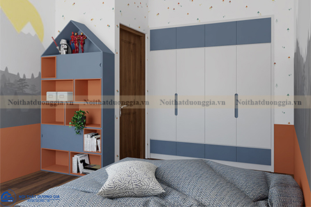Thiết kế nội thất gia đình NTGD-DG07