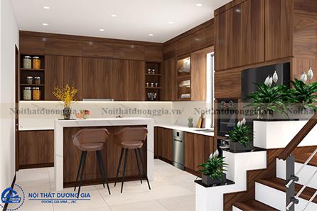 Thiết kế phòng bếp gia đình NTGD-DG08