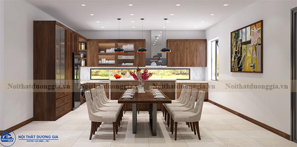Thiết kế nội thất phòng bếp NTDG-DG09 (view 3)