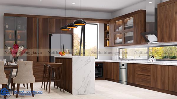 Thiết kế nội thất phòng bếp NTDG-DG09 (view 4)
