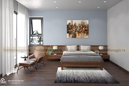 Thiết kế nội thất phòng ngủ gia đình NTGD-DG10