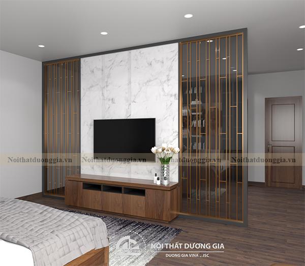 Thiết kế nội thất phòng ngủ gia đình NTGD-DG10 - phòng ngủ 2 (view 2)