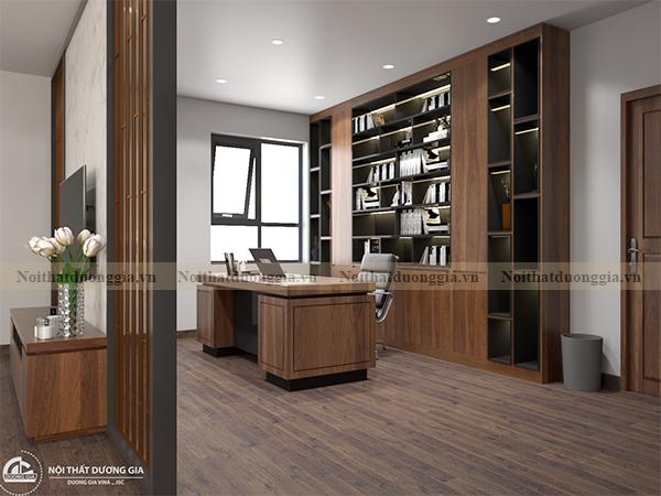 Thiết kế nội thất phòng ngủ gia đình NTGD-DG10 - phòng ngủ 2 (view 3)