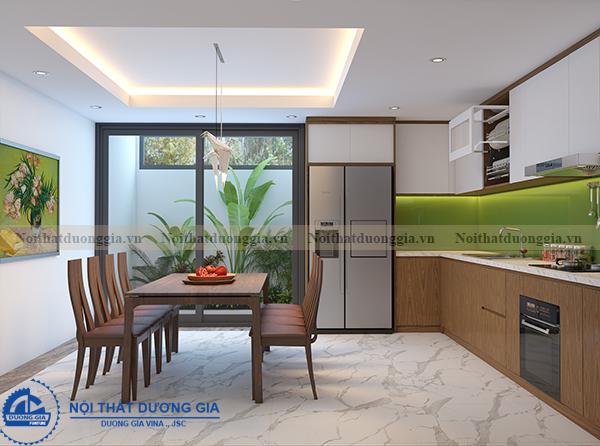 Thiết kế nội thất gia đình NTGD-DG11- phòng bếp (view 3)