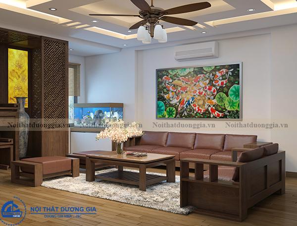Thiết kế nội thất gia đình NTGD-DG11 (view 2)