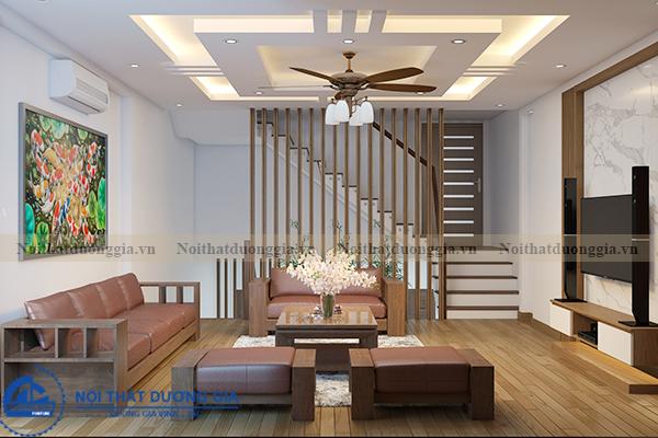 Thiết kế nội thất gia đình NTGD-DG11 (view 3)