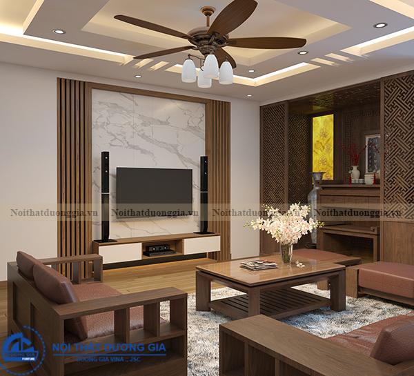 Thiết kế nội thất gia đình NTGD-DG11 (view 4)