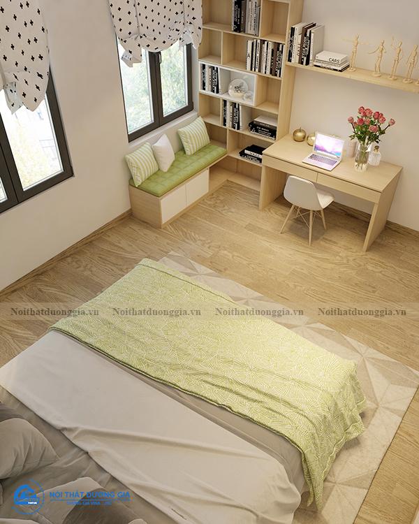 Thiết kế nội thất gia đình NTGD-DG11- phòng ngủ con gái 1 (view 4)