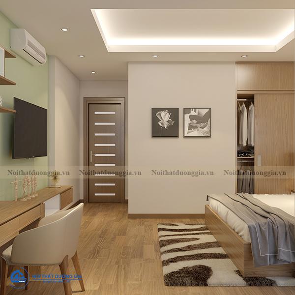 Thiết kế nội thất gia đình NTGD-DG11- phòng master (view 3)