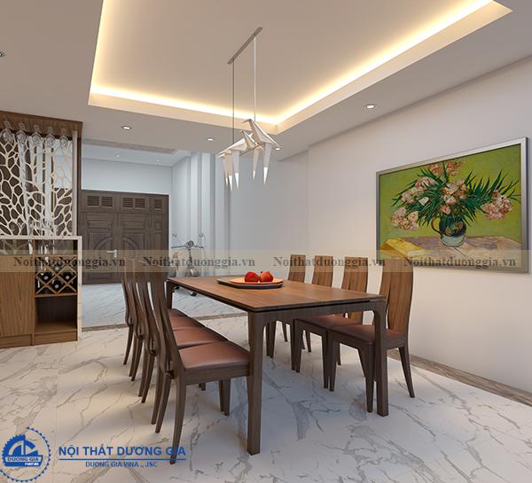 Thiết kế nội thất gia đình NTGD-DG11- phòng bếp (view 2)