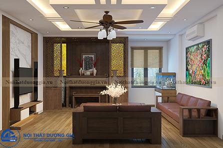 Thiết kế nội thất gia đình NTGD-DG11