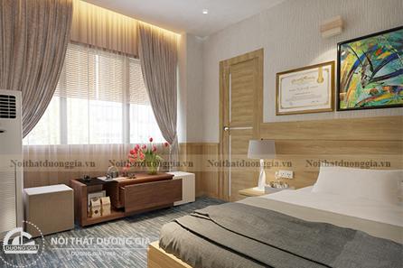 Thiết kế nội thất phòng ngủ NTGD-DG12
