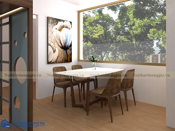 Thiết kế nội thất gia đình NTGD-DG13 - phòng ăn