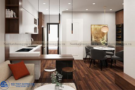 Thiết kế nội thất gia đình NTGD-DG15